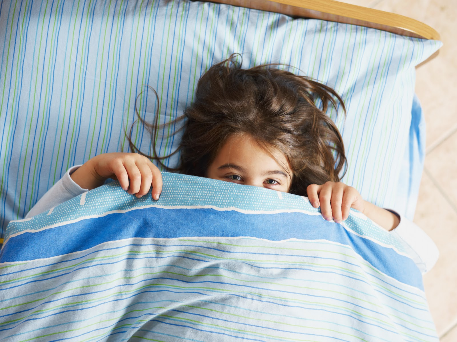 Monsters in the closet settling children s nighttime fears for Boys and girls in bed