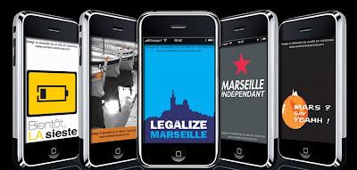 Fond d'ecran pour Iphone - Marseille en Vacances