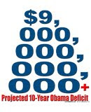 The new Obama deficit is $9T+.