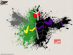 Kamen Rider W Wallpaper