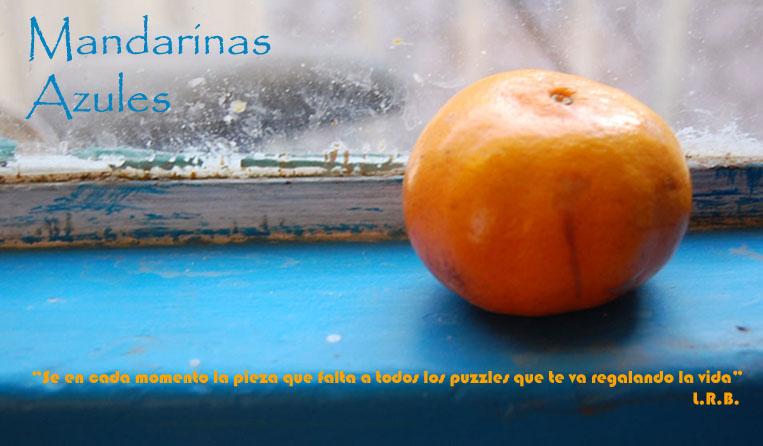 Mandarinas azules