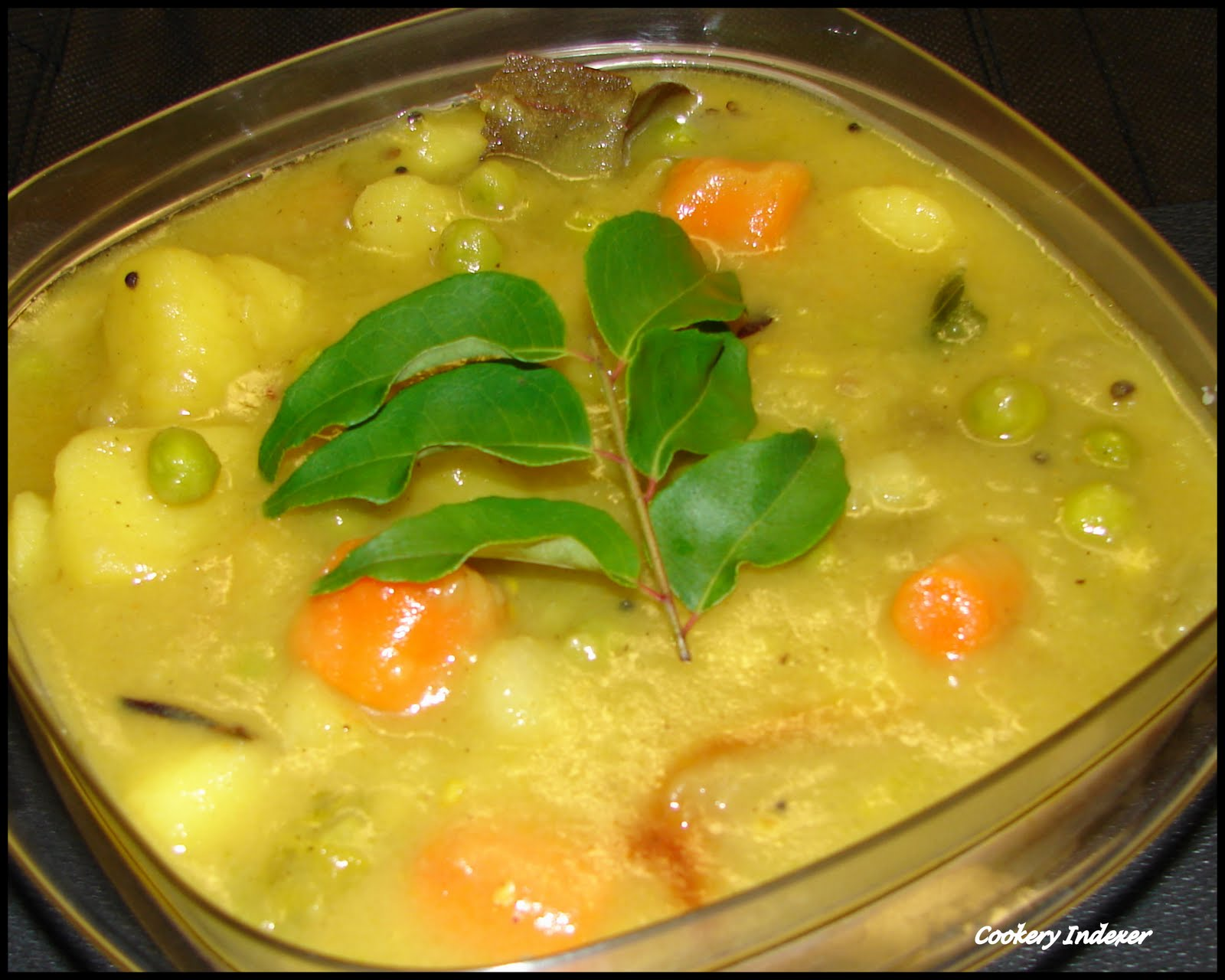 Regional Indian Cuisine Blogroll !: Vegetable Stew (in coconut milk)