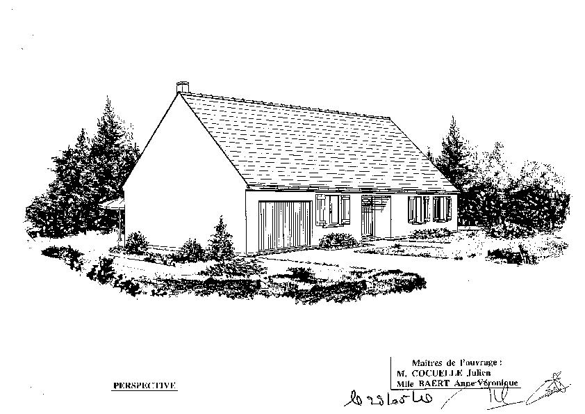 Maison phenix st sauflieu jul annev plan de la maison for Plan maison exterieur