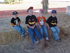 Grandkids waiting for the hay ride