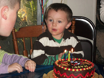 Grandson, Logan, turns 3