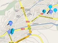 """Mapa """"De lanas por Burgos"""""""