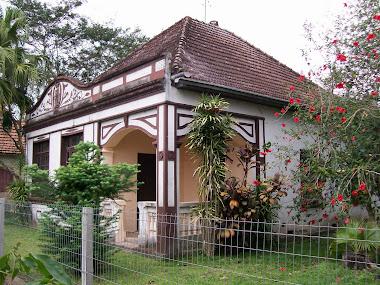 A casa onde vivi até os 24 anos