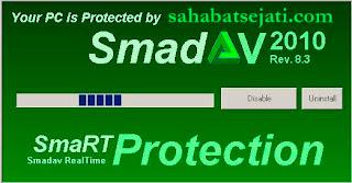 Smadav 8.3 Revisi 7 Oktober 2010