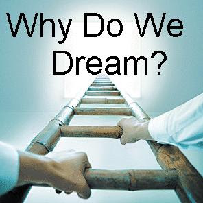 why do we dream Dreams most commonly occur during rapid eye movement (rem) sleep, and are easier to remember if we wake during this stage of sleep or soon afterwards evolutionary theories emphasise the need to feel safe in order to lose vigilance and go to sleep, so we may sleep less well in a novel environment,.