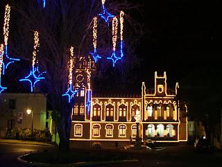Sintra iluminada para o Natal