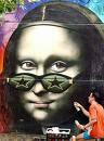 La Gioconda. Graffiti