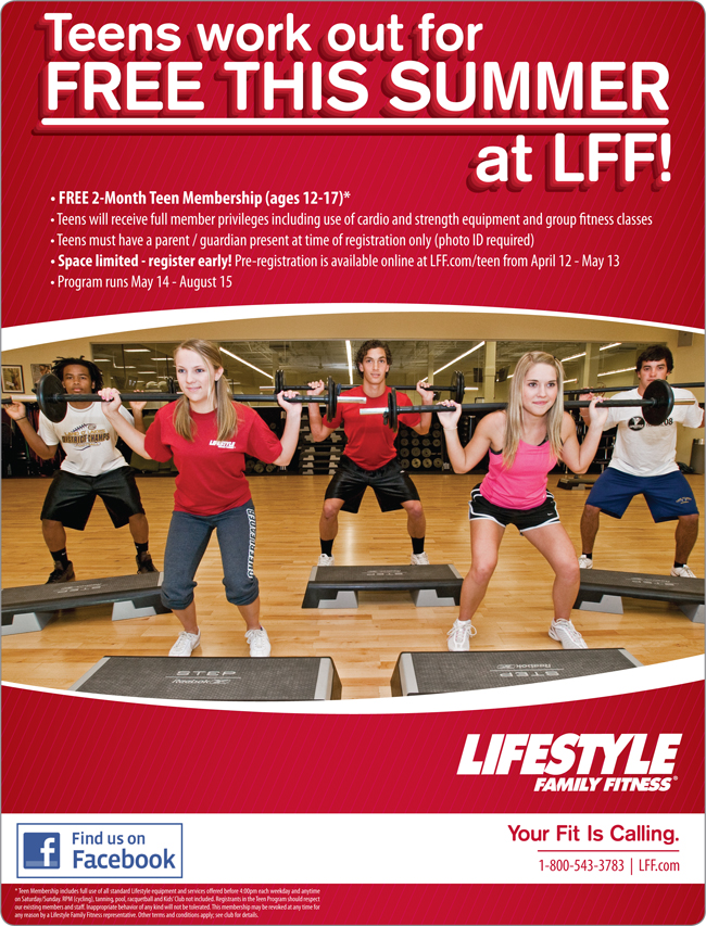 of teen gym memberships