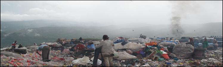 Panorama Of Dump