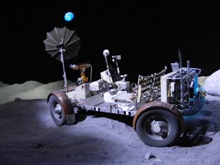 månebil på månen