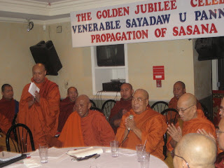 >Photos of Burmese Buddhist Monks at the conference to form the Solidarity Front
