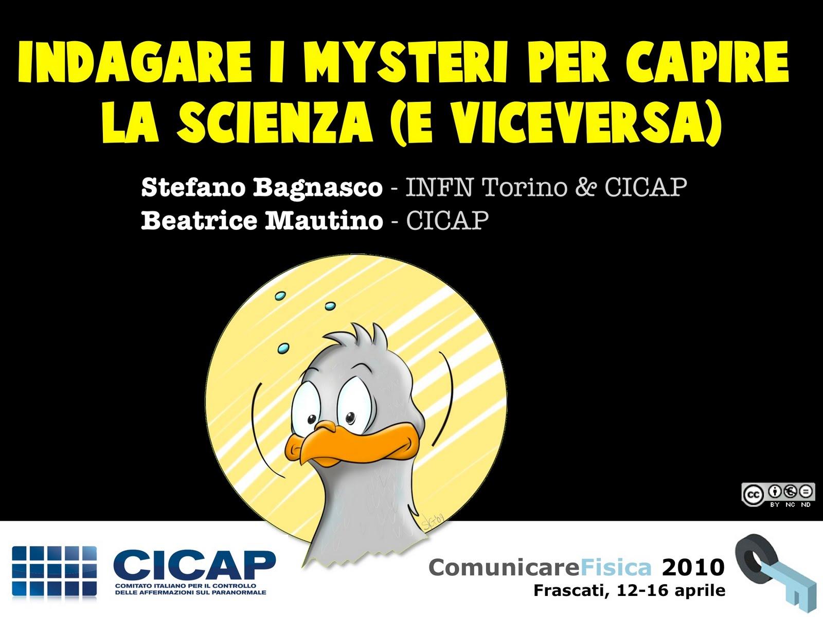 presentazione a ComunicareFisica 2010