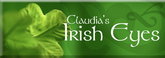Claudia's Irish Eyes