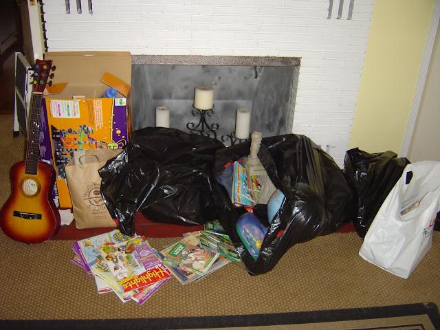 Giving Away Toys | Organizingmadefun.com