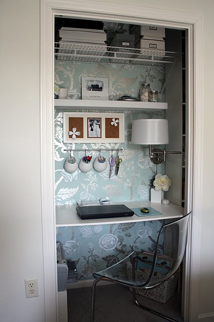 closet table ideas