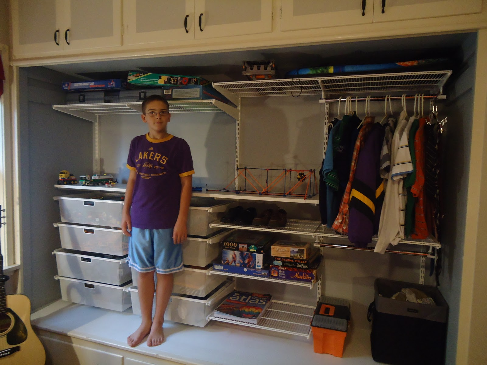 Organizing Made Fun: It's that time again...new closet system!