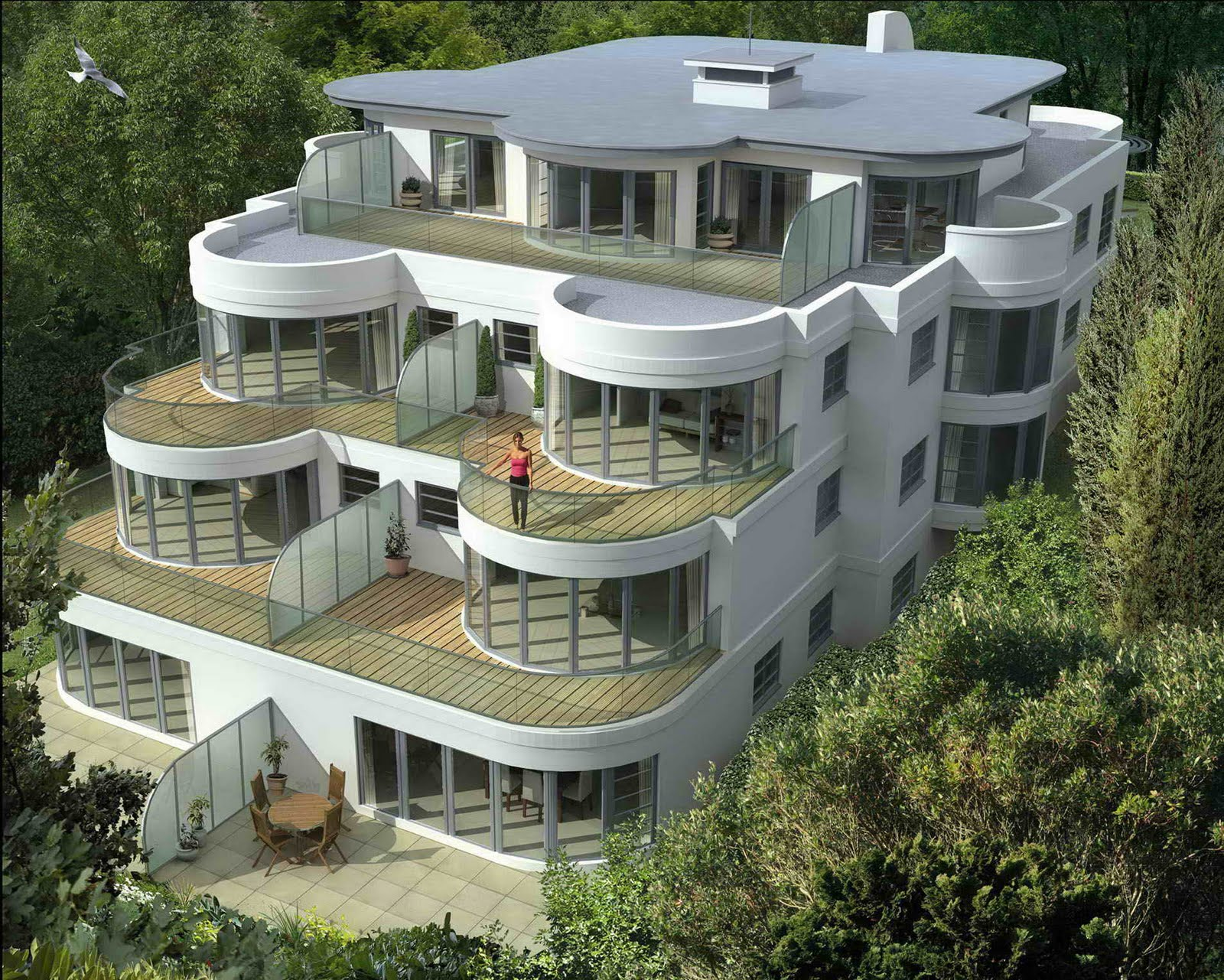 Modern architectural designs for Architecture design a house