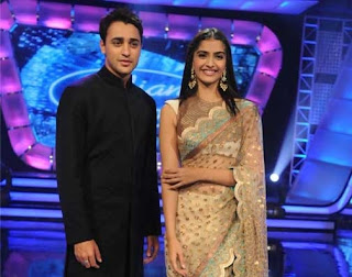Imran Khan and Sonam Kapoor in Indian Idol 5
