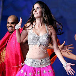 Katreena Kaif is dancing on stage