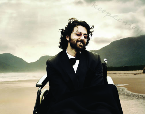 IN Guzaarisg Hrithik is playing role whose name id in film Ethan and he is Paralysis patient in this film