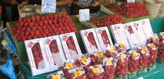 mansikoita thaimaassa