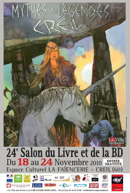 Salon du livre et de la bd mythes et l gendes for Salon de la bd colomiers