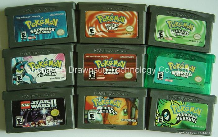 All Pokemon Gameboy Colour Versions Games