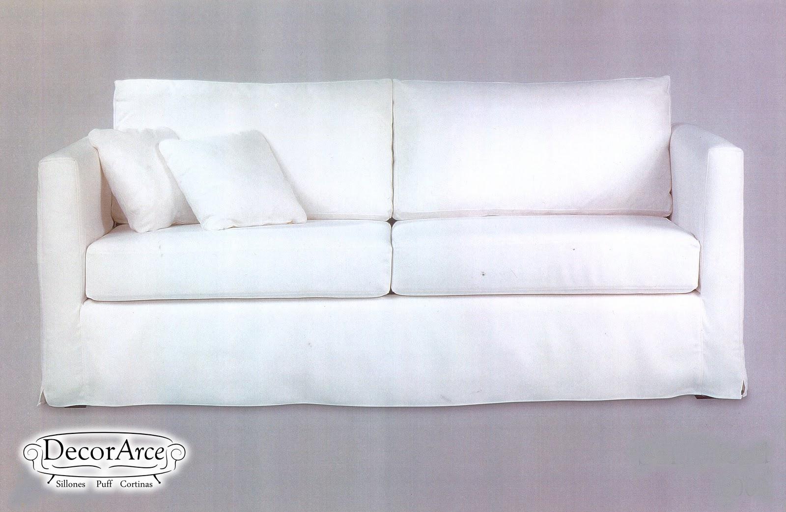 Sofa de dos y tres cuerpos decorarce mobiliario para for Sofa cama de dos cuerpos