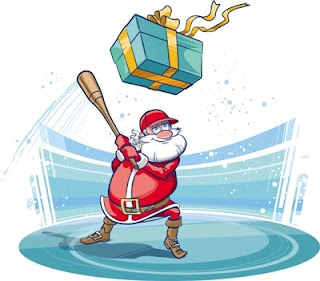 merry christmas from all here at less is more to all my readers out there in similar holiday fashion id like to provide a christmas list that every - Baseball Christmas