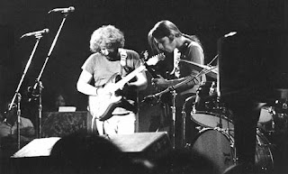 1973 Jerry Garcia and Bob Weir