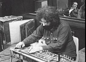 Jerry Garcia on Pedal Steel Guitar in the studio 1970-71