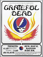 5-8-77 Cornell Grateful Dead Poster