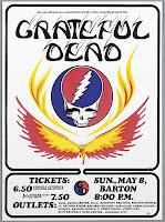 5-8-77 Cornell Grateful Dead Poster