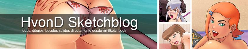 HvonD Sketchblog