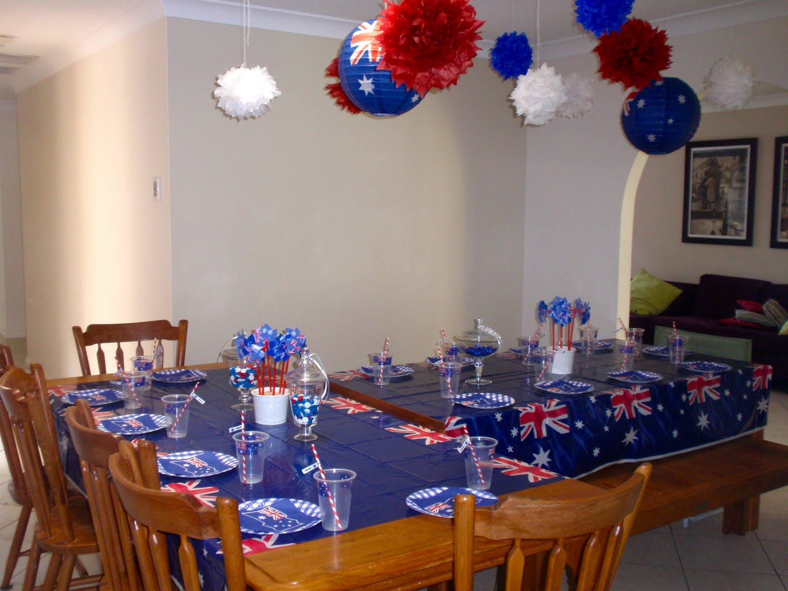 Giggleberry creations happy australia day for Australia day decoration