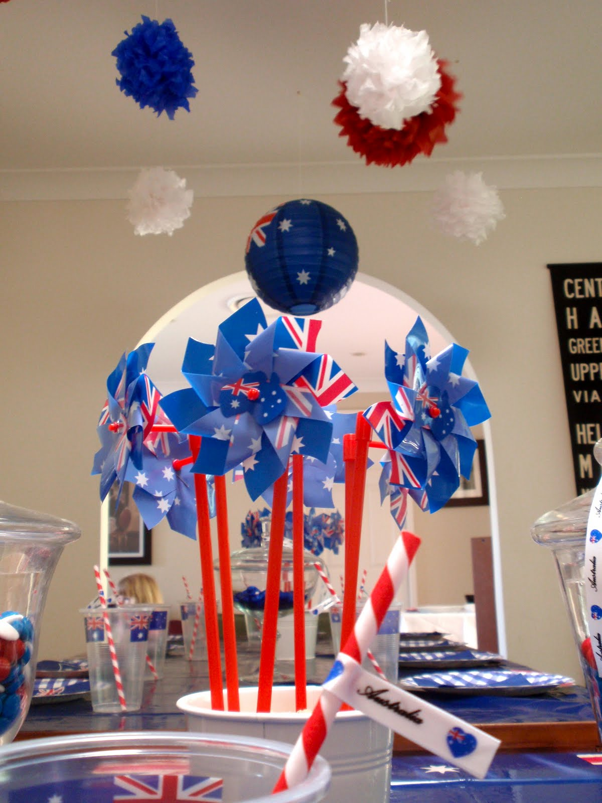 Giggleberry creations january 2011 for Australia day decoration