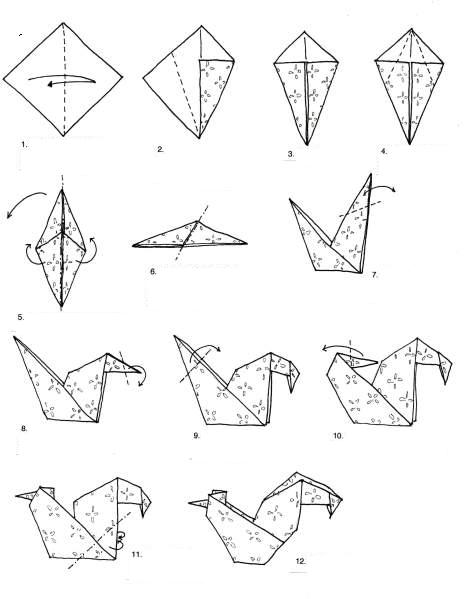 Origami Chicken Gallery Instructions Easy For Kids