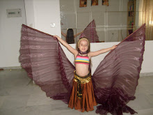 My daughter with her lovely wings