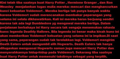 Film Harry Potter And The Deathly Hallows