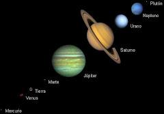 la tierra y sus planetas mas cercanos