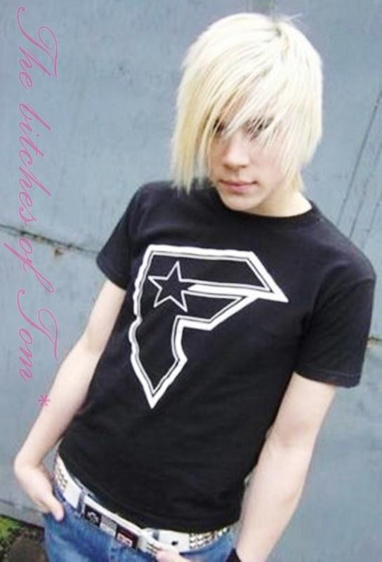Blonde Emo Boy Hairstyles
