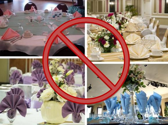 Folding Napkins See Those Chairs In The Top Left Photo Just Say It All Dont They Read Up On Better Approach To Here