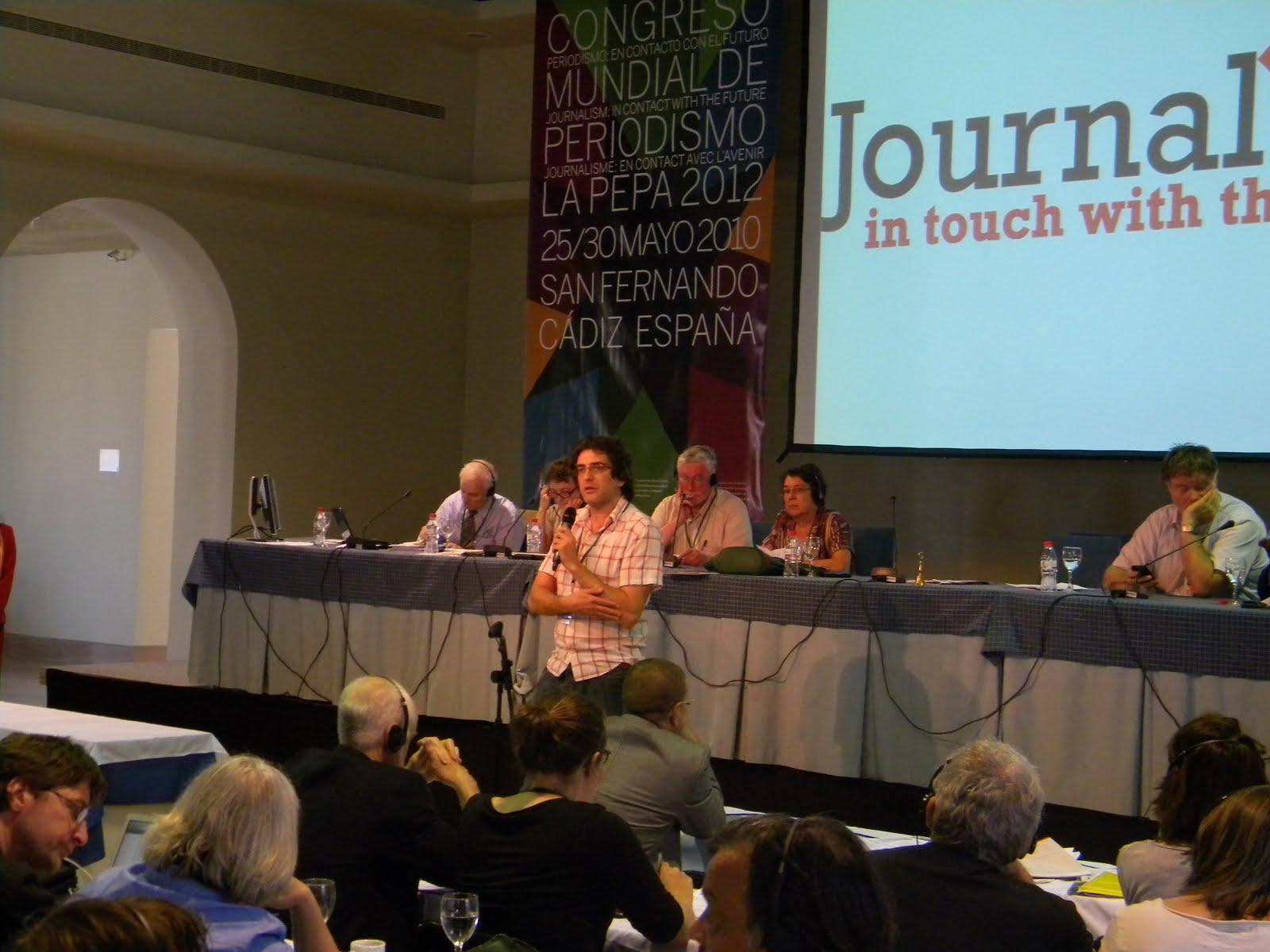 Gustavo Granero, vicepresidente de la FIP