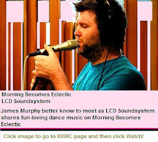 LCD Soundsystem Live on MBE (Video)