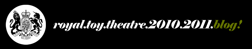 Royal Toy Theatre BLOG