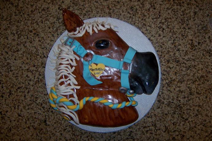 Emma's Horse Cake